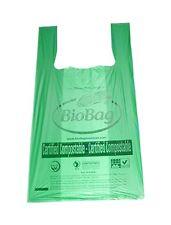 Bundle of 50 BioBag Biodegradable T-Shirt Bags (BB-TSB-50)