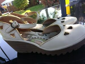 Fly Of London Size 8 Mary Jane Shoes