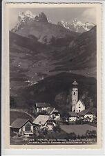 AK Renon, Ritten, Südtirol, Teilansicht m. Kirche 1950 Foto-AK