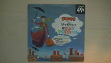 "Disneyland Records ""SONGS from Walt Disney's MARY POPPINS"" 45 RPM 1962"