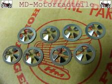 Honda CB 750 Four K0 K1 K2  Clip Set für Seitendeckelembleme  Nut, speed Set