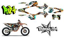 2013 KTM 250SX-F MX Graphics Kit Decal Kit Ript Complete by Toyskinz