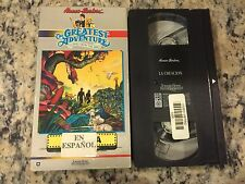 GREATEST ADVENTURE STORIES FROM THE BIBLE THE CREATION SPANISH VHS LA CREACION!
