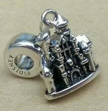 1P Disney Princess CASTLE Mickey Fantasia DISNEYLAND Stamp European Dangle Charm