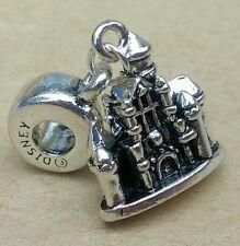 1P Disney Princess CASTLE Mickey Fantasia DISNEYLAND Stamp European Dangle Charm