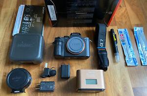 Sony Alpha A7s II Digital Camera | A7sii BUNDLE | VERY LOW SHUTTER COUNT