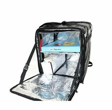 """Pk-76F: Doubledeck Insulated Pizza/Food Delivery Backpack Bag, 16""""x 15""""x 18"""",."""