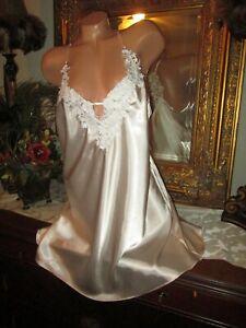 Linea Donatella Blush Pink Sissy Satin Babydoll nightgown dress lingerie XLarge