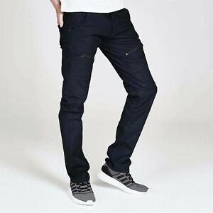 883 Police Men Cassady Jeans Tonal Stitching Denim Trousers Casual Pants Bottoms