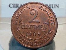 CIRA(56)(10) - 2 CENTIMES - DUPUIS - 1909 - RARE & RARE QUALITE SUP !