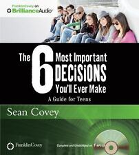 THE 6 MOST IMPORTANT DECISIONS YOU'LL EVER MAKE unabridged MP3 CD SEAN COVEY