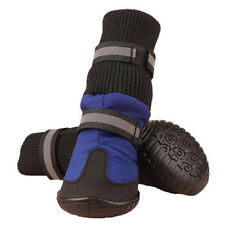Big Dog Soft Waterproof Boots for Large Dog Shoes - Blue XL I6C8