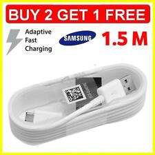 1.5m Official Samsung Galaxy S7 S6 S5 S4 Note 4 5 USB Fast Charging Cable Lead