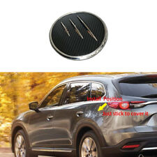 ABS Gas Door Cover Fuel Tank Oil Cap Trim For Mazda CX-9 2016-2018