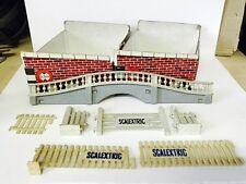 vintage 60's Scalextric Exin Triang Vallas Padock Puentes Etc...