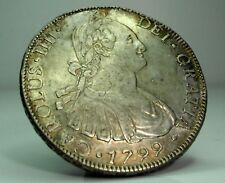 CHILE-Cile (Carlo IV of Spain) 8 Reales 1799 D.A.