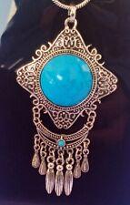 big Pendant with chain necklace jewelry 9 cm pendant 49 gram