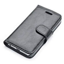 Custodia Agenda Elegante Muvit per iPhone 5 Black Nuova