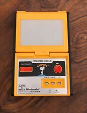 Lcd game Nintendo Panorama screen Snoopy game & watch