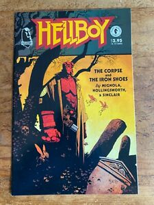 HELLBOY THE CORPSE AND THE IRON SHOES NM DARK HORSE COMICS MIKE MIGNOLA 1993 *