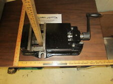 """16""""L 2.5"""" Max Opening T-slotted Milling Vise W/Handle Working As Is!"""