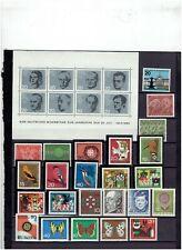 BUNDES REPUBLIEK uit 1960 tot 1964 POSTFRIS MNH