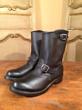 VTG NOS Mens Side Harness Motorcycle Harley Military Police Boots 1970's Size 13