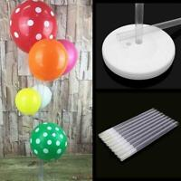 30CM Plastic Balloon Arch Column Stand with Base Kits Decor Wed Birthday Pa Z5R9