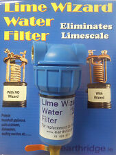 Lime Wizard water filter Eliminates limescale