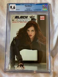 BLACK WIDOW #1 SCARLETT JOHANSSON PHOTO VARIANT COVER CGC 9.6 New Movie 7/9/21