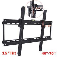 Tilt LCD LED Flat Plasma TV Wall Mount Bracket 32 37 40 42 46 50 55 60 62 65 70