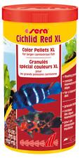 sera Cichlid Red XL, OMEGA & KRILL Fish Food For MALAWI CICHLID # 1000ml/370g