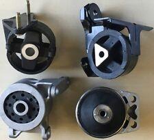4pcSet fits 1998 1999 2000 Ford Contour Manual 2.0L Engine Transmission Mounts