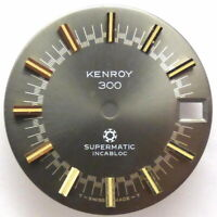 KENROY 300 Supermatic Zifferblatt Vintage Diver watch ETA 2623, Ø 28,8mm, RARE