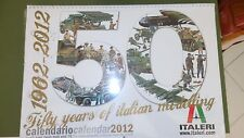 Italeri IT9227 CALENDARIO 2012 ANNIVERSARIO ITALERI Modellino