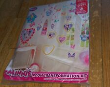 Walt Disney Minnie Mouse Hallmark Party Room Transformation Kit Decorations New