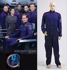 Star Trek Enterprise Duty Jumpsuit Uniform Costume *Tailored*