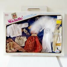 Fashion Michelle Deluxe Gift Set 1983 Very Rare NRFB Barbie 4 Hi-Fashion Outfits