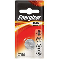 Energizer 3-Volt CR1616 PIP-1 Cell Battery
