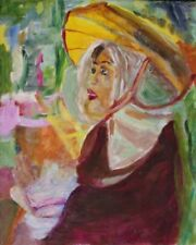 Peintures du XXe siècle et contemporaines sur panneau portrait, autoportrait pour Expressionnisme