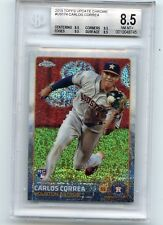 2015 TOPPS UPDATE CHROME #US174 CARLOS CORREA ROOKIE RC, ASTROS, BGS 8.5 (48745)