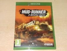Boue Chemin Xbox Un A Spintires Jeu