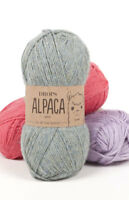 DROPS Alpaca 100% Super Fine 4ply Alpaca yarn Luxury Knitting Wool 50g