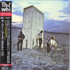 THE WHO Who's Next CD Mini LP