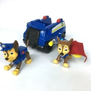 Paw Patrol Cruiser Vehicle and Two Chase Figures