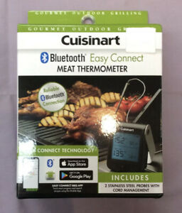 Cuisinart Bluetooth Easy Connect Meat Thermometer – CGWM-043 (New & Sealed)