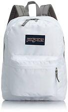 JanSport T501 Superbreak Classic Backpack White