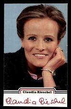 Claudia Rieschel Original Signiert aus den 80er Jahren +G 25392