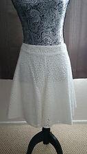 BCBG Max Azria white skirt - size small - NWT