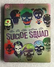 DC Suicide Squad 4K Blu-ray Best Buy Exclusive Steelbook No Digital